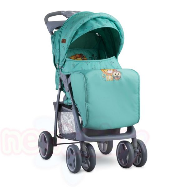 Лятна бебешка количка Lorelli FOXY с покривало