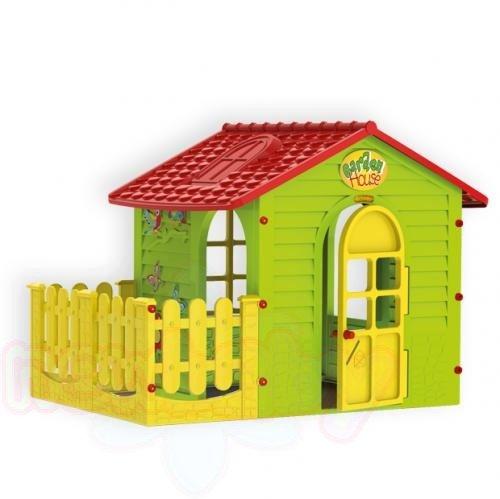 Малка къща с ограда Mochtoys