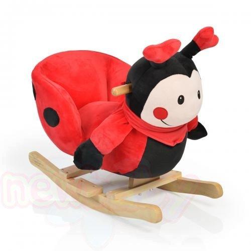 Плюшена люлка Moni Ladybug