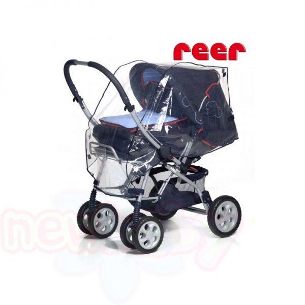 Универсален дъждобран за бебешка количка 3в1 Reer
