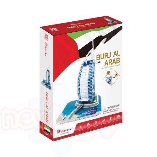 3D Пъзел CubicFun BURJ AL ARAB