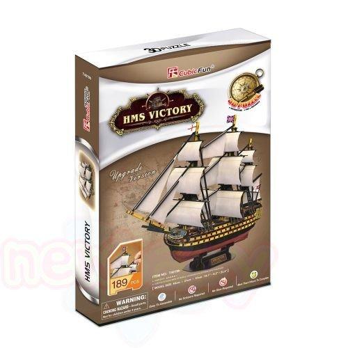 3D Пъзел CubicFun HMS VICTORY