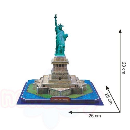 3D Пъзел CubicFun STATUE OF LIBERTY