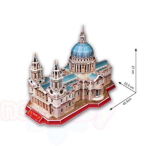 3D Пъзел CubicFun St.PAUL'S CATHEDRAL