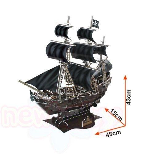 3D Пъзел CubicFun Тhe QUEEN ANNE'S REVENGE