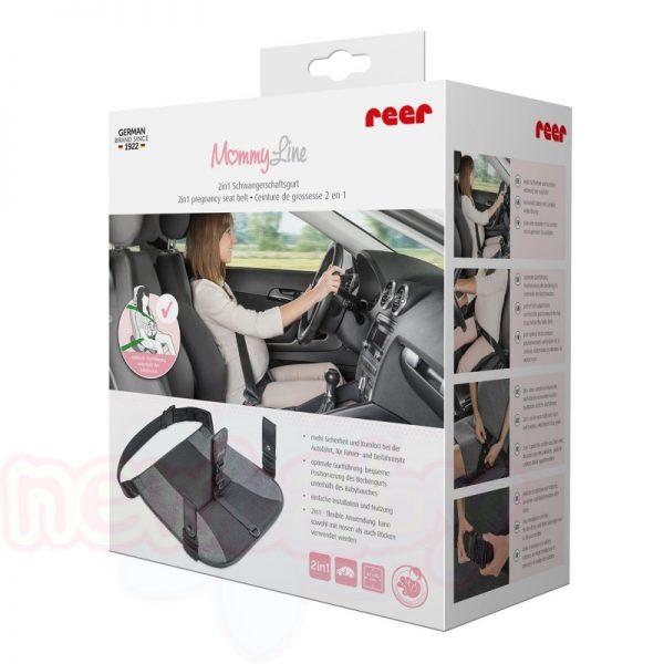 Колан за шофиране по време на бременност Reer Mommyline