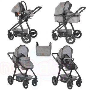 Комбинирана бебешка количка Lorelli ALEXA SET