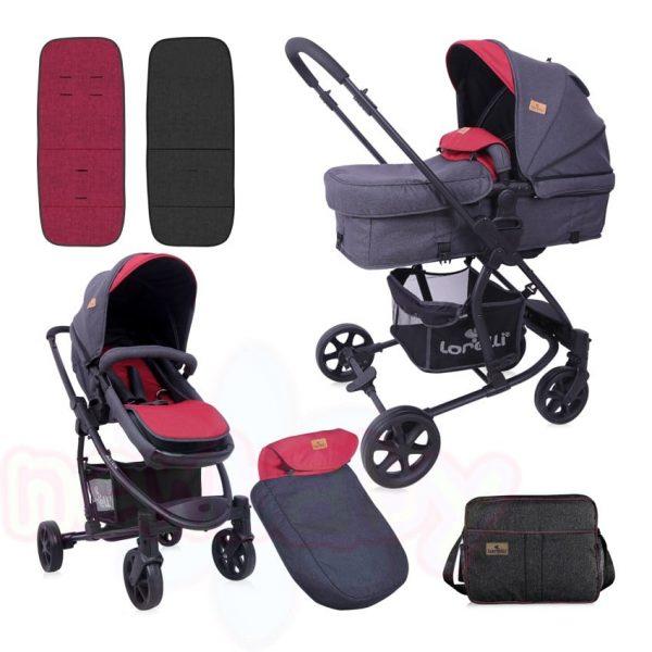 Комбинирана бебешка количка Lorelli ASTER