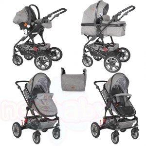 Комбинирана бебешка количка Lorelli LORA SET