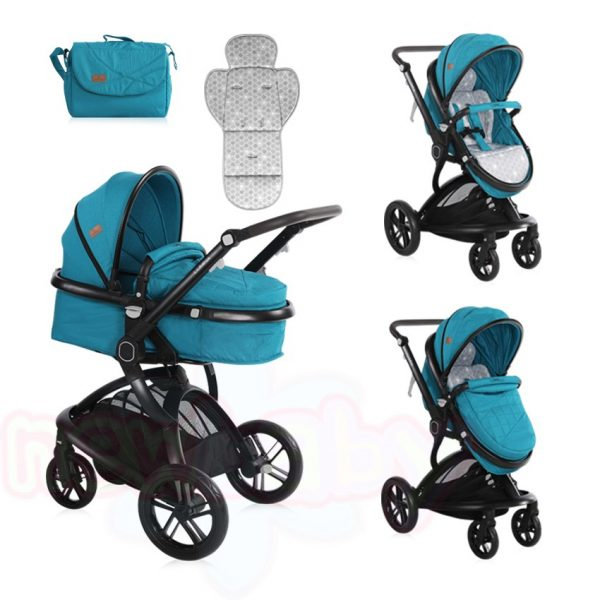 Комбинирана бебешка количка Lorelli LUMINA