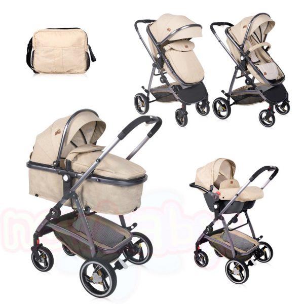 Комбинирана бебешка количка Lorelli SOLA SET