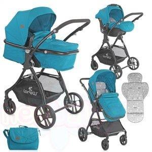 Комбинирана бебешка количка Lorelli STARLIGHT SET