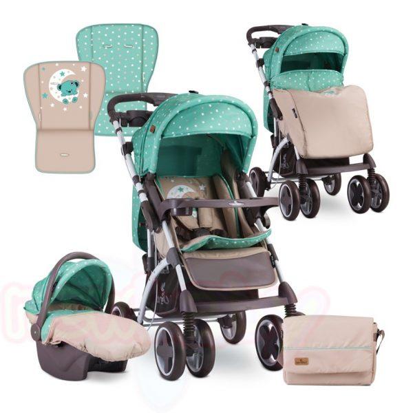 Комбинирана бебешка количка Lorelli TOLEDO SET