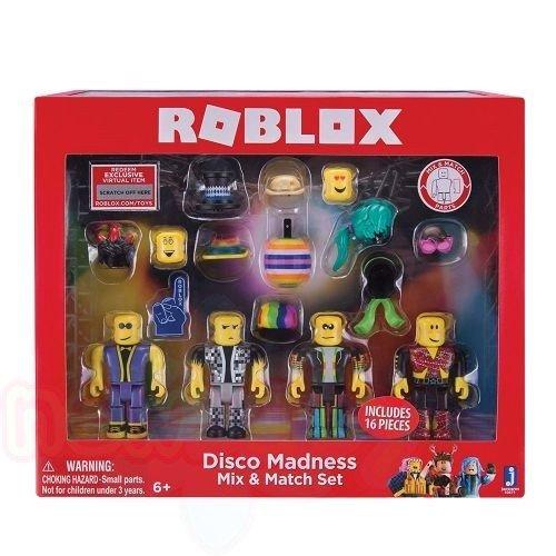 Комплект фигурки за сглобяване ROBLOX ДИСКО MIX AND MATCH