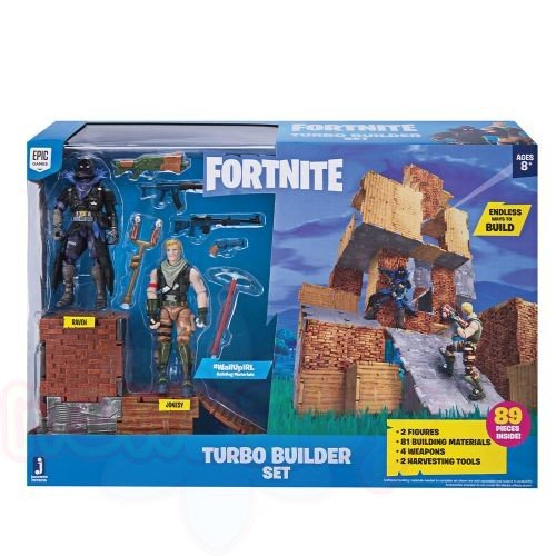 Крепост с фигури JW FORTNITE JONESY&RAVEN TURBO BUILDER