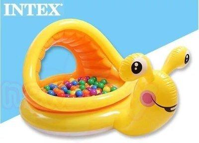 Надуваем бебешки басейн Охлювче Intex