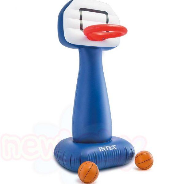 Надуваем кош за баскетбол Intex