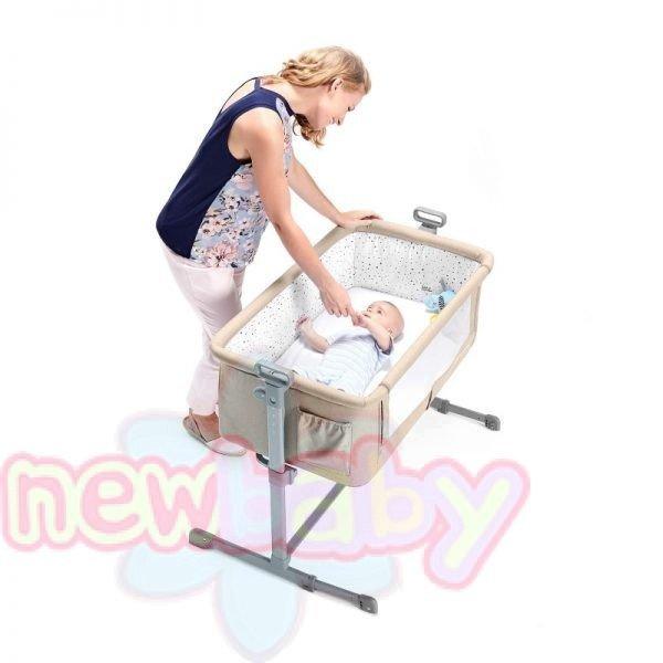 Бебешка кошара KinderKraft Neste