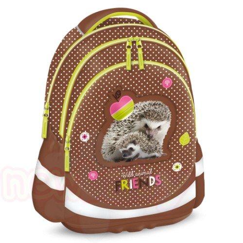 Ученическа раница Ars Una Hedgehog