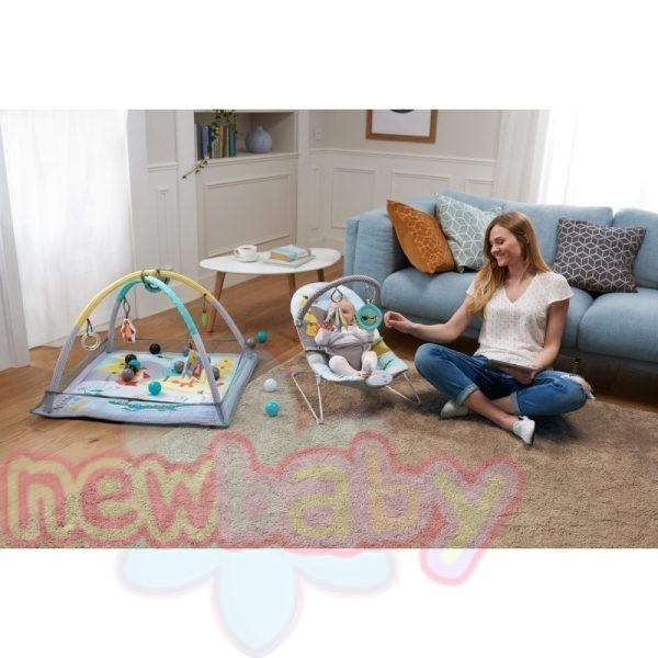 Бебешки шезлонг с вибрация KinderKraft MilyFUN