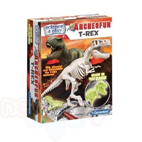 Светещ скелет T-REX Clementoni Science & Play