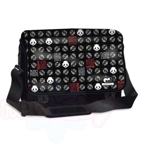 Ученическа чанта за рамо Ars Una AUtonomy Laser Panda