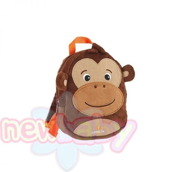 Детска раница с повод LittleLife Маймуна