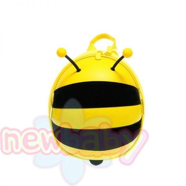 Zizito Малка детска раница с предпазен колан Пчеличка