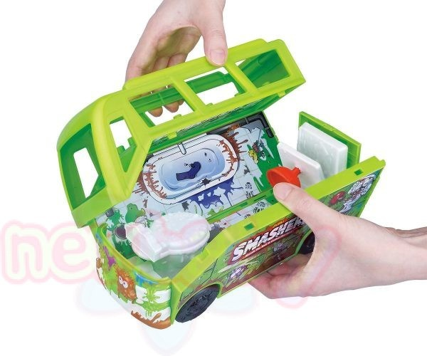 Игрален комплект Смашерс- кален автобус за фигурки