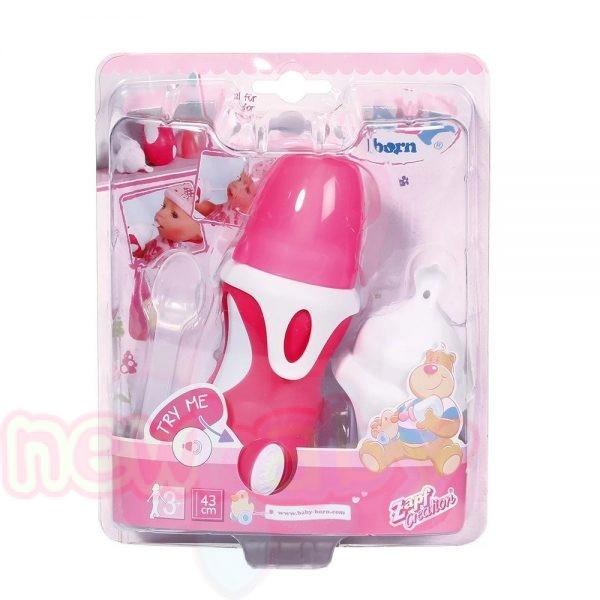 Интерактивни шише и лъжичка за кукла BABY Born
