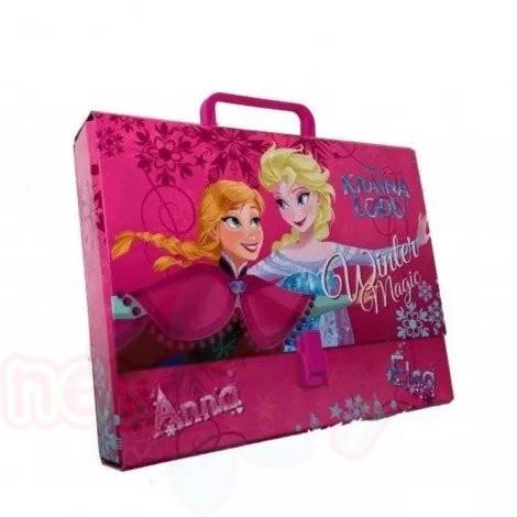 Детска чанта с дръжка тип куфарче Majewski Frozen