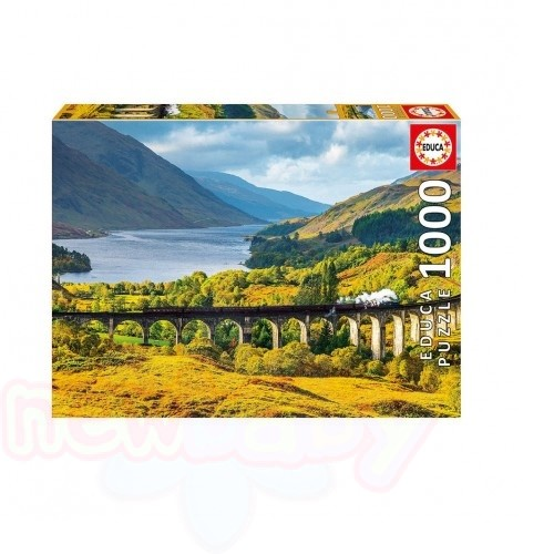 Пъзел EDUCA GLENFINNAN VIADUCT 1000ч