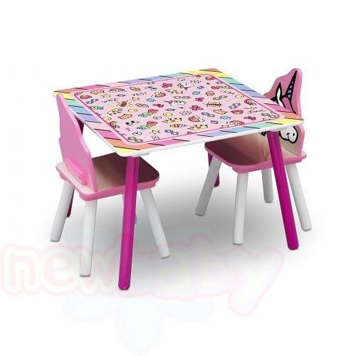 Детска масичка с 2 столчета Rainbow