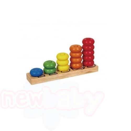 Дървена играчка за сортиране L1