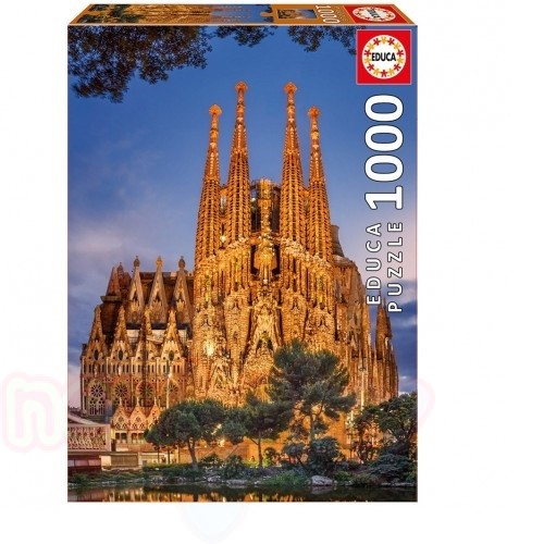 Пъзел EDUCA SAGRADA FAMILIA 1000ч
