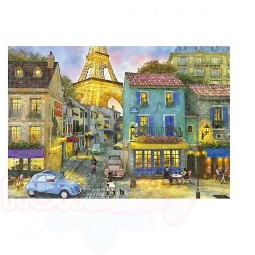 Пъзел EDUCA Парижки улици 1500ч