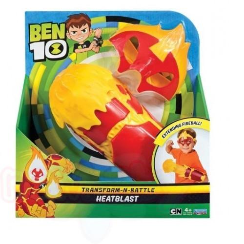 Комплект BEN 10 Маска и ръкавици Heatblast