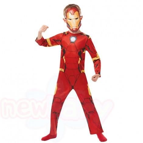 Детски карнавален костюм Rubies Avengers Ironman