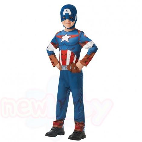 Детски карнавален костюм Rubies Avengers Капитан Америка