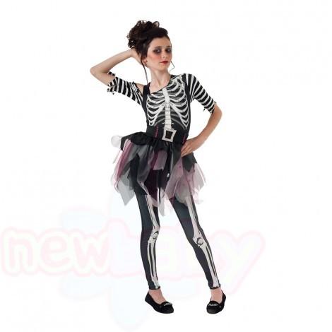 Детски карнавален костюм Rubies Skelee Ballerina