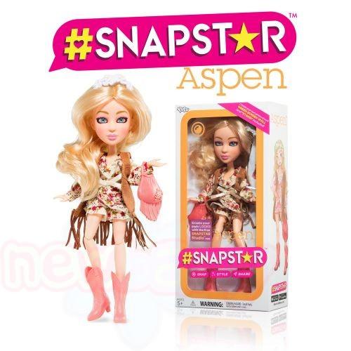 Кукла SNAPSTAR Aspen