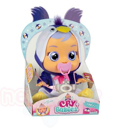 Плачеща кукла с истински сълзи IMC CRYBABIES PINGUI