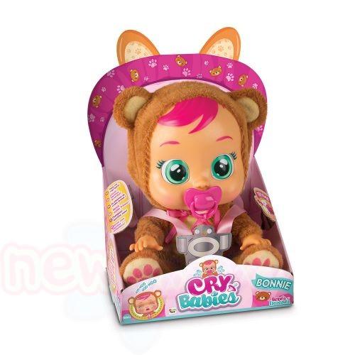 Плачеща кукла с истински сълзи IMC CRYBABIES BONNIE