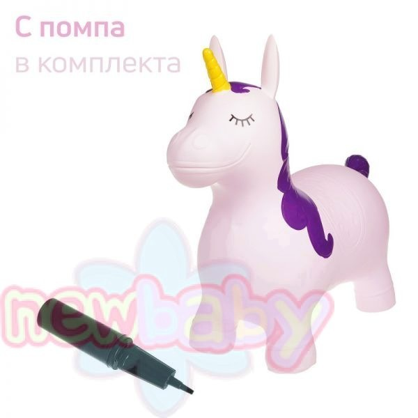 Надуваема играчка за яздене Zizito Еднорог