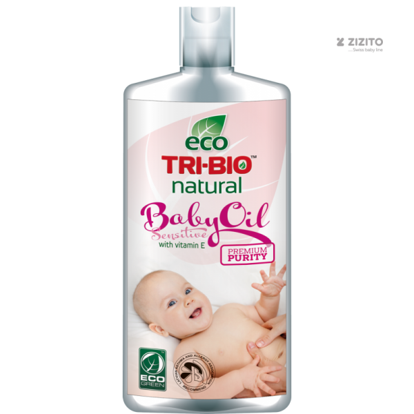 Натурално бебешко олио с Витамин Е Tri-Bio