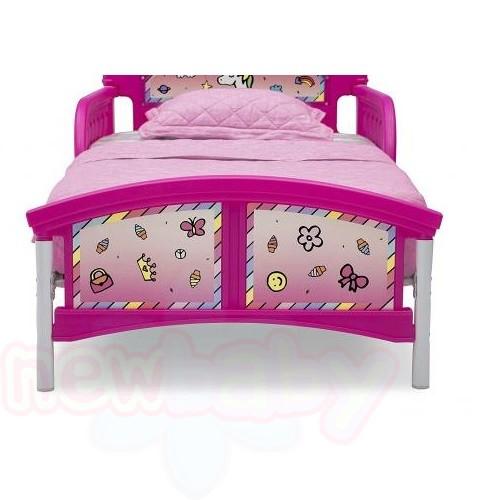 Детско легло Rainbow с 3D изображение на таблата