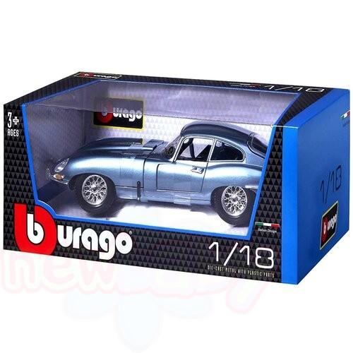 Кола Jaguar'E'Coupe (1961)- Bburago Plus