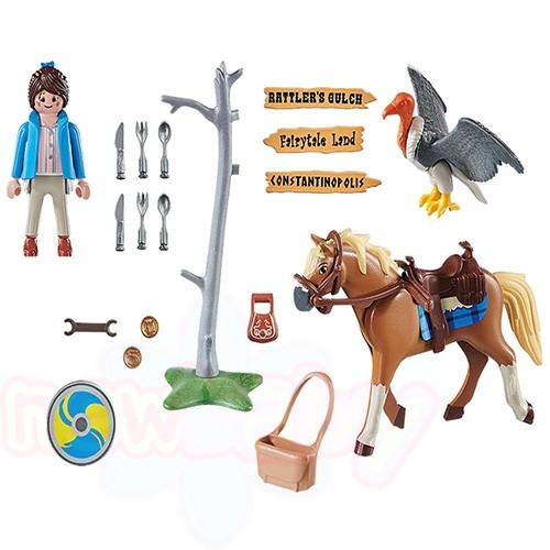 Марла с кон- Playmobil
