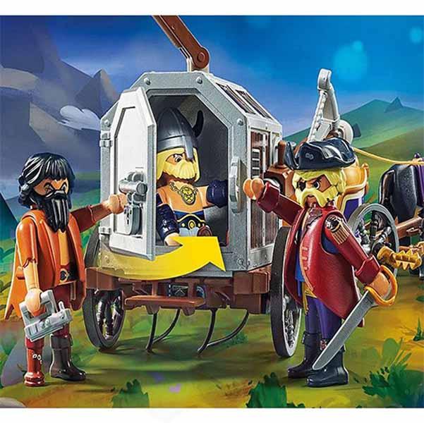 Чарли със затворническия вагон- Playmobil