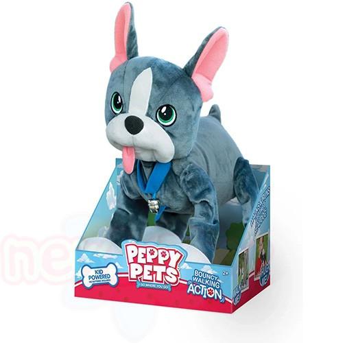 Плюшен любимец за разходка навън Peppy Pets- Кученце Булдог